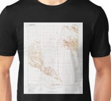 USGS TOPO Map Arizona AZ Midway 314799 1958 62500 Unisex T-Shirt