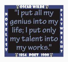 I Put All My Genius Into My Life - Wilde Kids Tee
