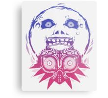 Majora's mask - Colour Gradient  Metal Print