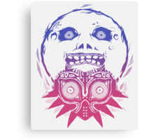 Majora's mask - Colour Gradient  Canvas Print