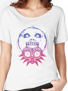 Majora's mask - Colour Gradient  Women's Relaxed Fit T-Shirt