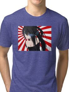 Anime Manga Girl Tri-blend T-Shirt