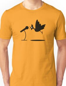 Rooster Crows Unisex T-Shirt