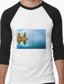 Pine Reflection Men's Baseball ¾ T-Shirt