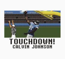 Tecmo Bowl Touchdown Calvin Johnson by av8id
