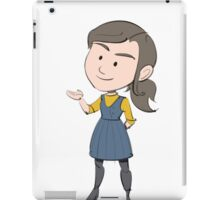 DOCTOR WHO'S CLARA OSWALD (SERIES 9) iPad Case/Skin