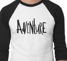 Adventure x Field Men's Baseball ¾ T-Shirt