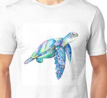 Aqua Turtle  Unisex T-Shirt