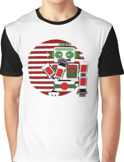 Robot Is Tired Graphic T-Shirt