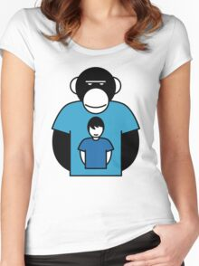 Planet Apes-man Women's Fitted Scoop T-Shirt
