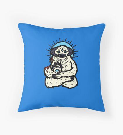 Spirit Wampa Throw Pillow