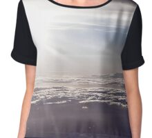 Sunset above the Clouds Chiffon Top