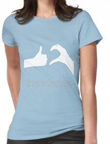Friendzone Logo !!! Womens Fitted T-Shirt