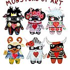 Monsters of Art by alphabetty