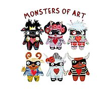 Monsters of Art Photographic Print