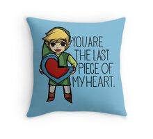 The Last Piece Throw Pillow