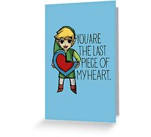The Last Piece Greeting Card