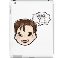 TXF - Fox Mulder iPad Case/Skin