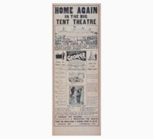 Performing Arts Posters Home again in the big tent theatre the triumphant American tour of the supreme master of magic George 1596 Baby Tee