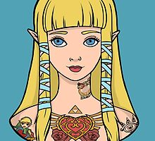 Zelda - Skyward Sword (SG Style) by Seignemartin
