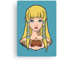 Zelda - Skyward Sword (SG Style) Canvas Print
