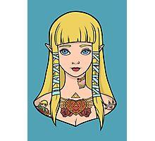 Zelda - Skyward Sword (SG Style) Photographic Print