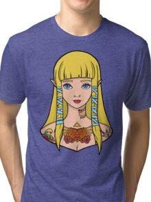 Zelda - Skyward Sword (SG Style) Tri-blend T-Shirt
