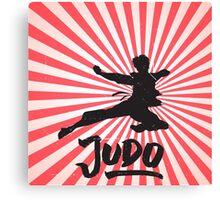 JUDO ILLUSTRATION Canvas Print