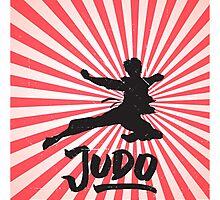 JUDO ILLUSTRATION Photographic Print