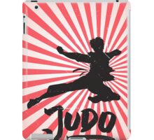 JUDO ILLUSTRATION iPad Case/Skin