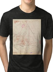 USGS TOPO Map Arizona AZ San Francisco Mtns 315602 1894 250000 Tri-blend T-Shirt