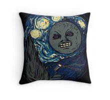 Starry Night in Termina Throw Pillow