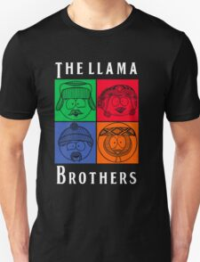 The Llama Brothers Unisex T-Shirt
