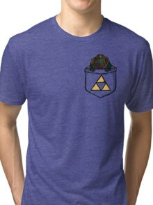 Pocket Ganon Tri-blend T-Shirt