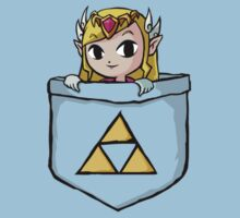 Legend Of Zelda - Pocket Zelda Kids Tee
