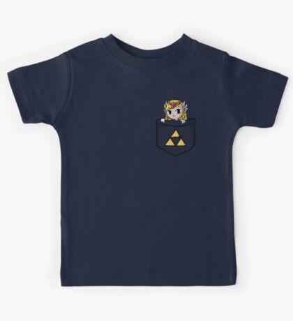 Legend Of Zelda - Pocket Zelda Kids Tee