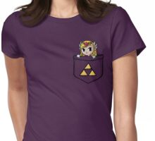 Legend Of Zelda - Pocket Zelda Womens Fitted T-Shirt