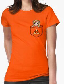 Legend Of Zelda - Pocket Zelda Womens Fitted T-Shirt