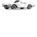 Chevrolet Corvette convertible 1962 by garts
