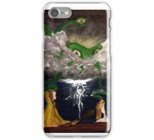 The Alien, the Dog, and Dingus X iPhone Case/Skin