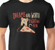 Mouse Like Pizza Unisex T-Shirt