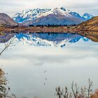 Lake Hayes Reflection by Adrian Alford Photography