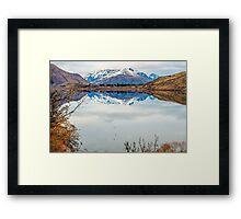 Lake Hayes Reflection Framed Print