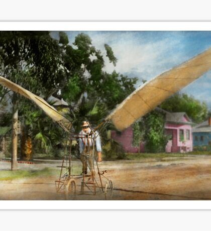 Plane - Odd - The early bird 1910 Sticker