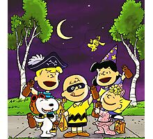 CHARLIE BROWN SNOOPY HALLOWEEN  Photographic Print