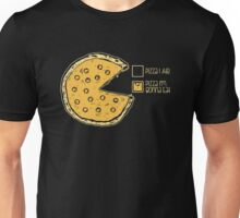 Pizza Pie Chart nom nom Unisex T-Shirt