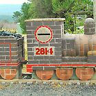 Steam Train Mailbox # 2 by Penny Smith