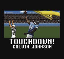 Calvin Johnson Techmo Touchdown Black by av8id