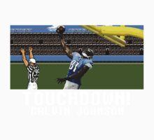 Techmo Bowl Touchdown Calvin Johnson Baby Tee