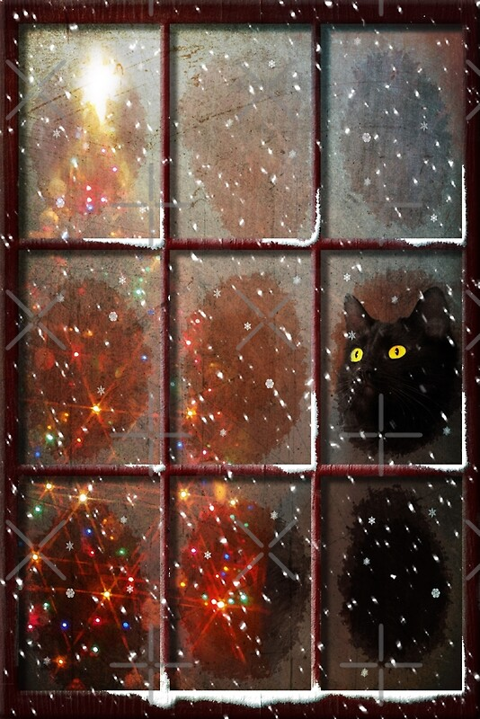 Let it snow greeting cards by megan noble redbubble for Noble windows